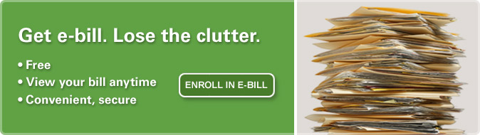 Enroll in E-Bill