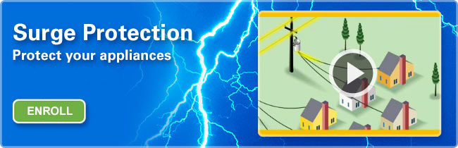 Surge Protection - Protect your home and electronics