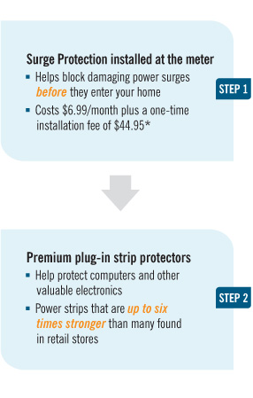 Meter-base protection and Plug-in Strip Protection