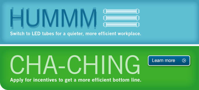 Apply for incentives to get a more efficient bottom line. Learn more.
