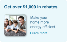 Get over $1000 in rebates.